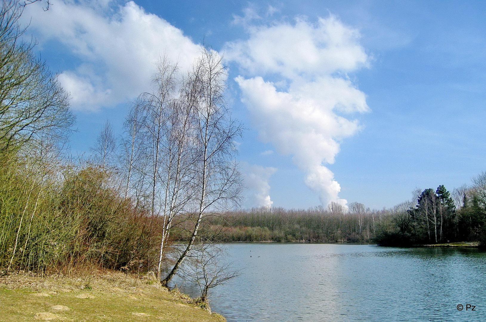 Der Kasterer See am Ostermontag 2013 ...