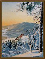 Der Keilberg (1244m) bei Oberwiesenthal (2000)