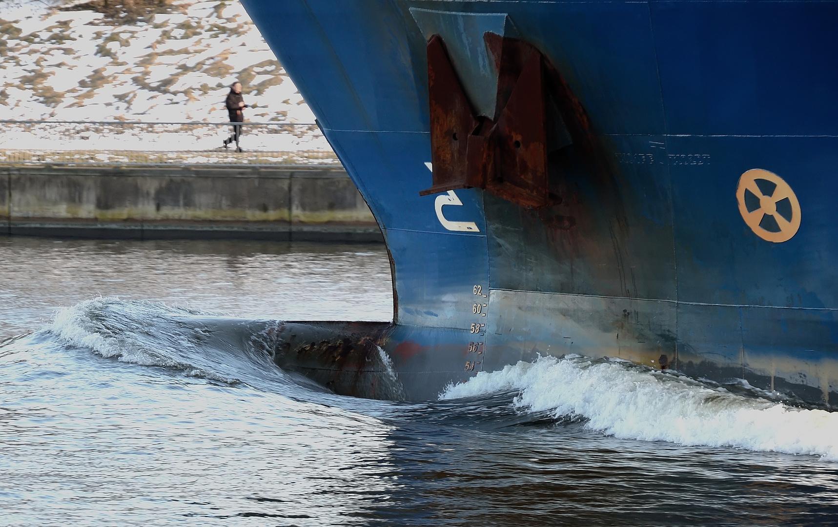 Der Kiel-Canal , Ort der Begegnungen