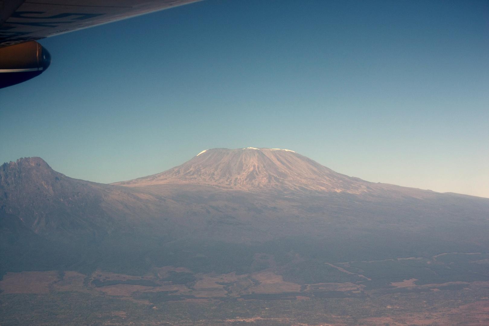 Der Kilimandscharo....