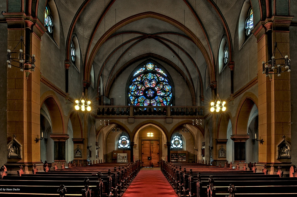 Der Kirchenausgang