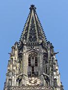 Der Kirchturm der Lambertikirche