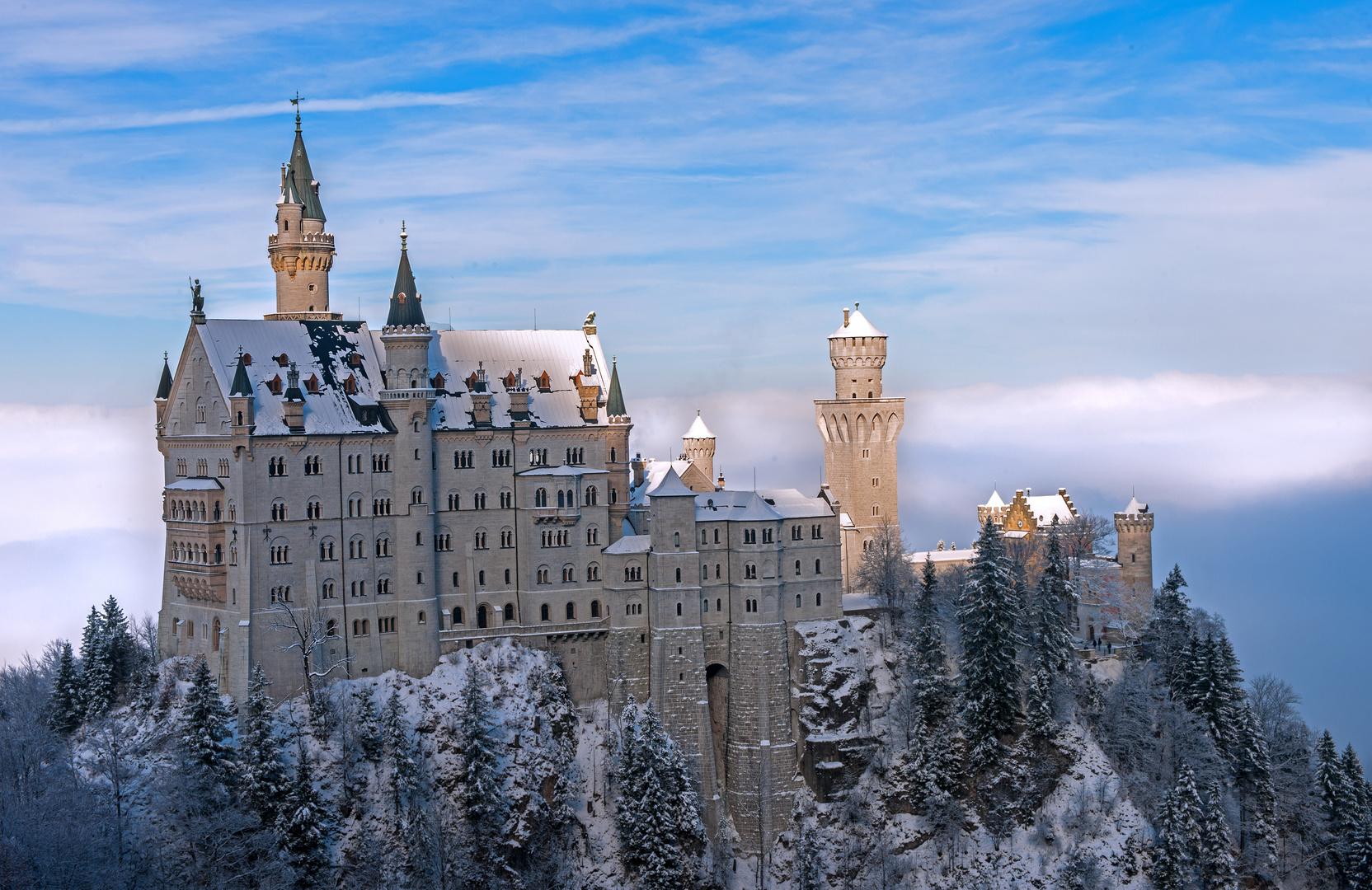 Der Klassiker - Neuschwanstein im Winter