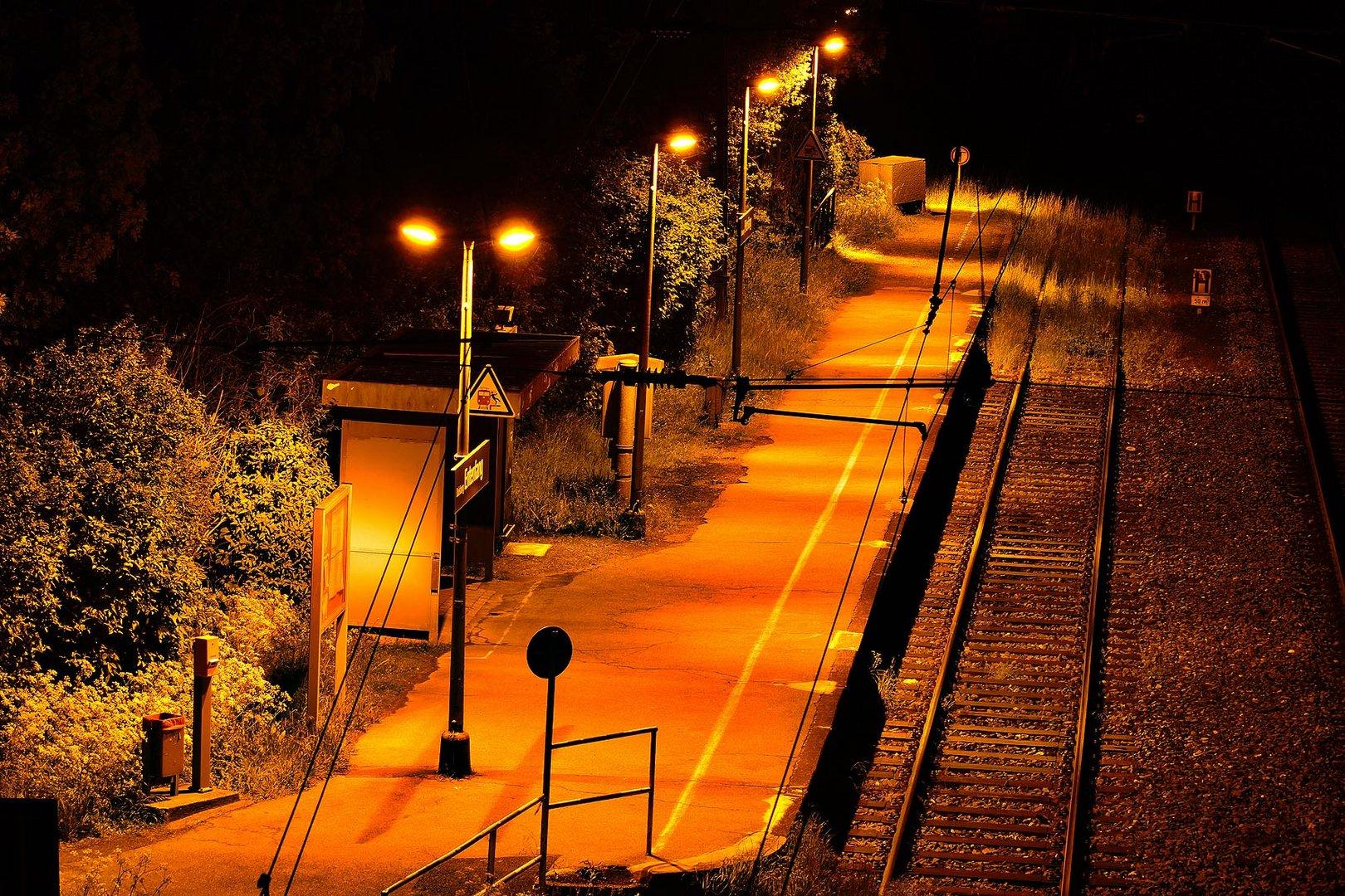 Der kleine Bahnhof!