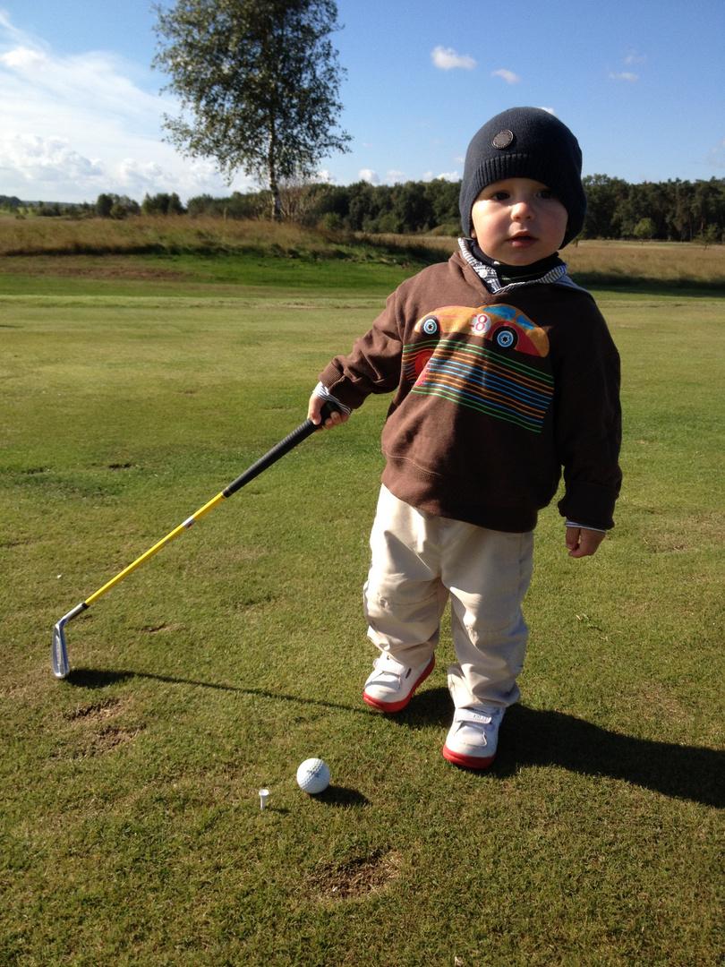 der kleine Golfer