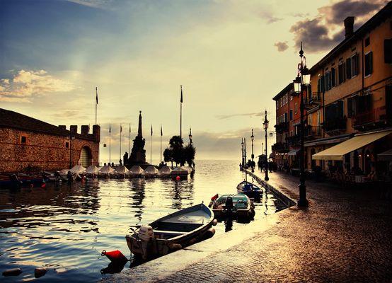 Der kleine Hafen...
