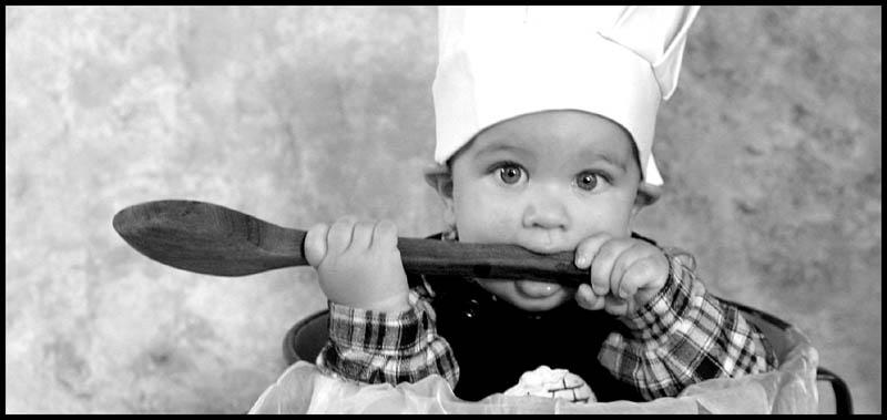 der kleine Koch...