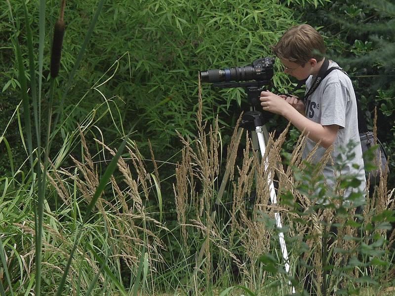"""Der """"kleine"""" Naturfotograf..."""