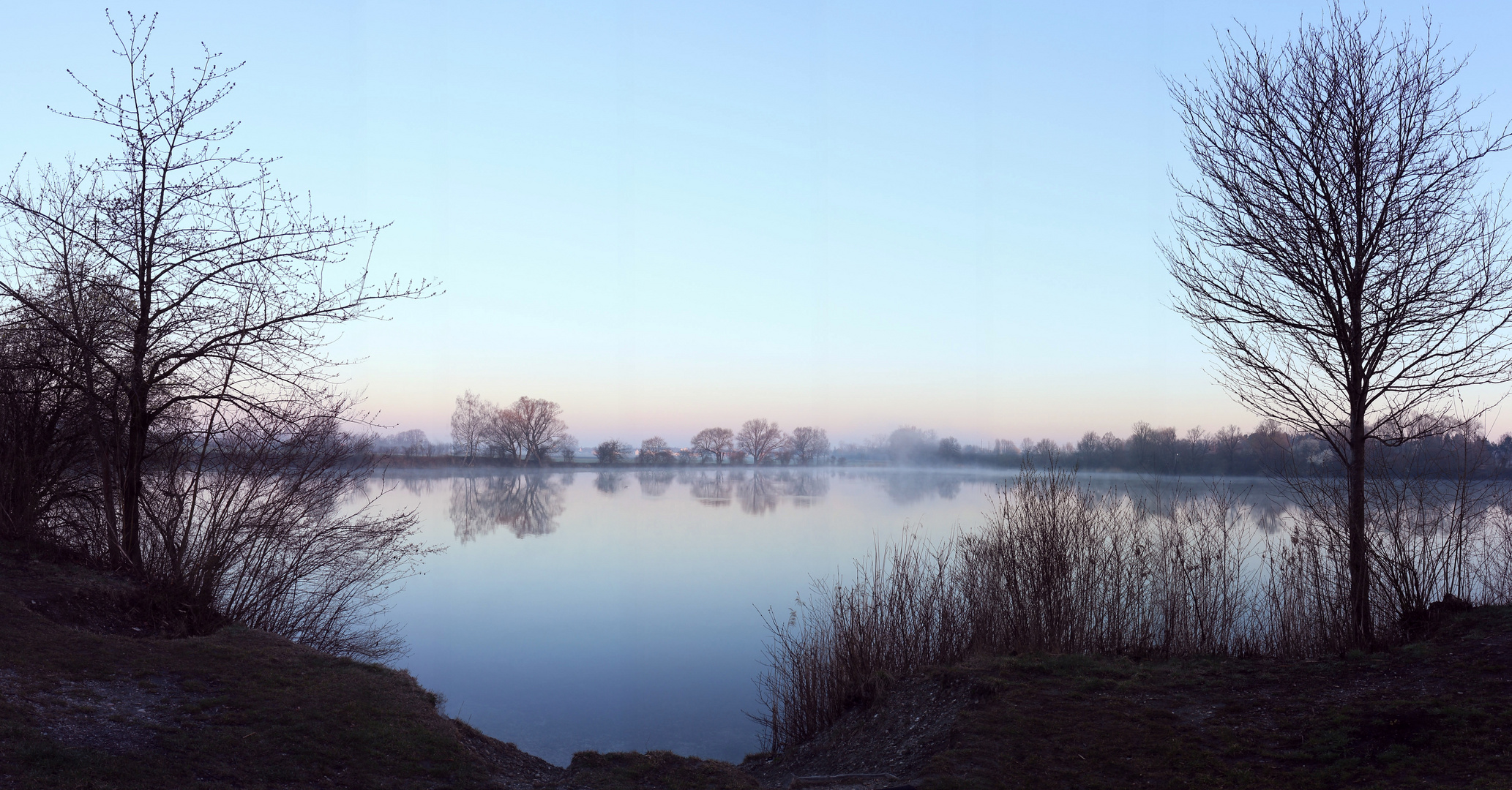 Der Kleine Olchinger See am Morgen