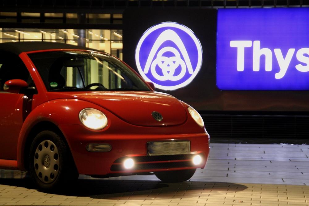 Der kleine rote Beetle...