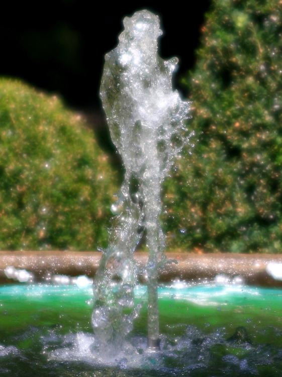 Der kleine Springbrunnen