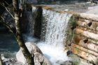 der kleine Wasserfall