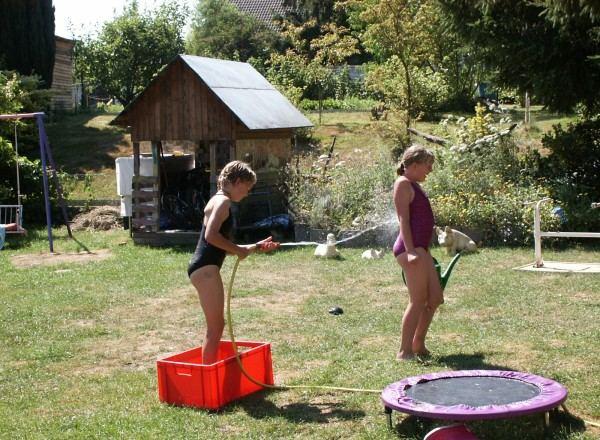Der Knick im Wasserstrahl ????