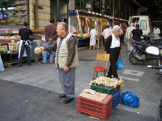 - Der Knoblauchverkäufer -
