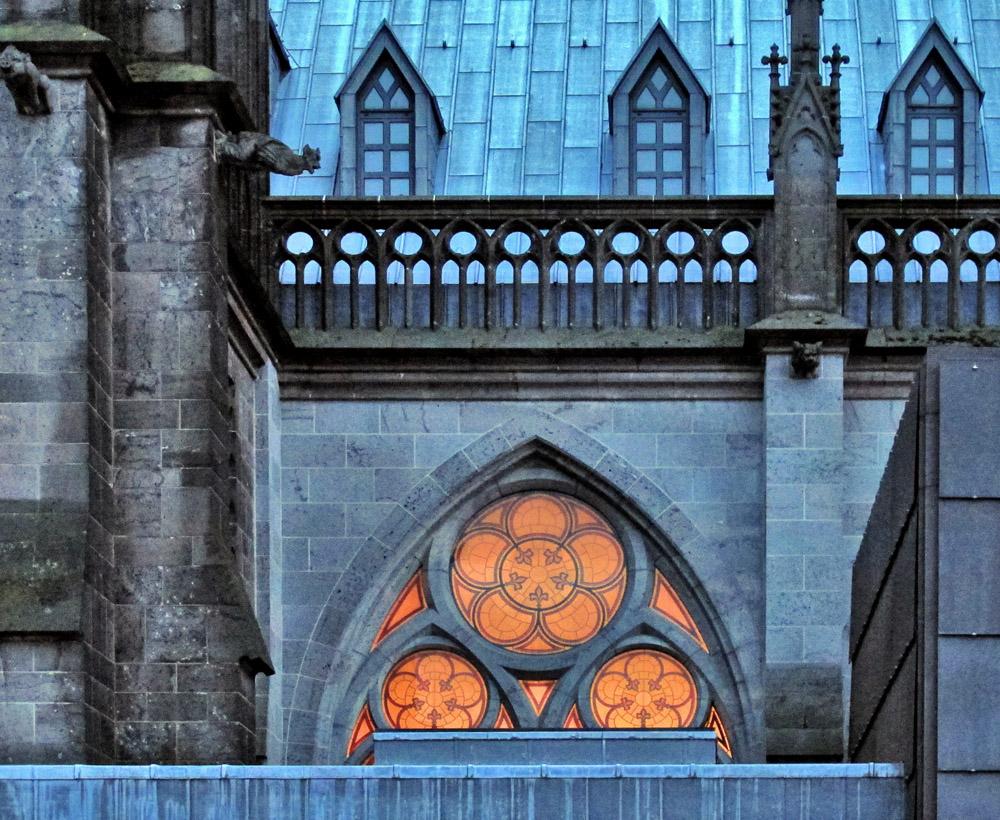 Der Kölner Dom mal...