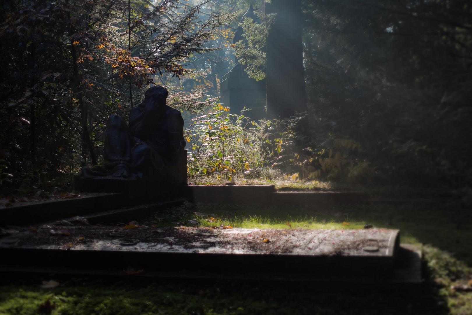 Der König am Grab