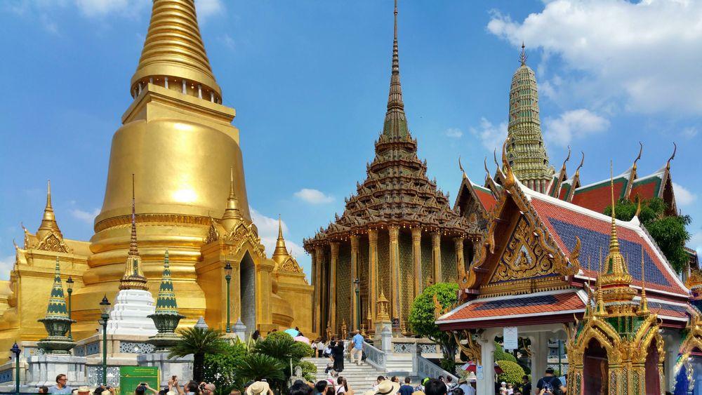 Der Königspalast zu Bangkok