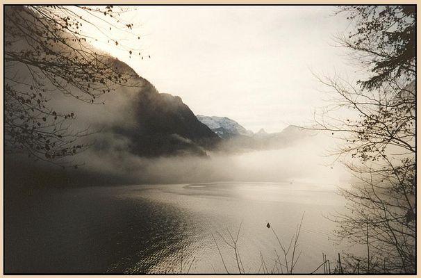 Der Königssee im Nebel (2)