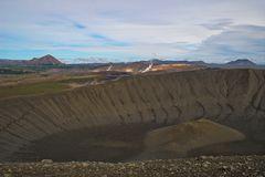der Krater des Vulkans Hverfell