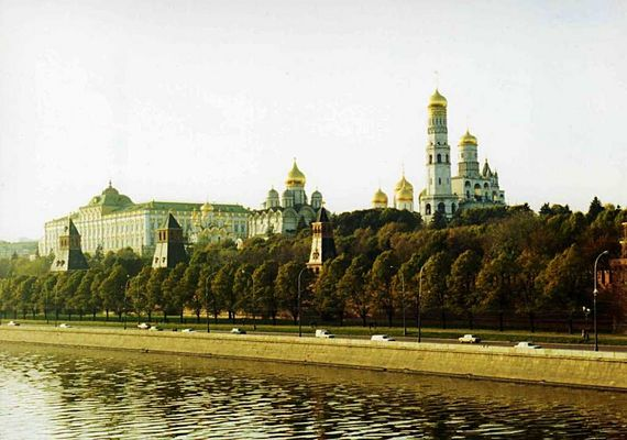 Der Kreml am 05.10.1993