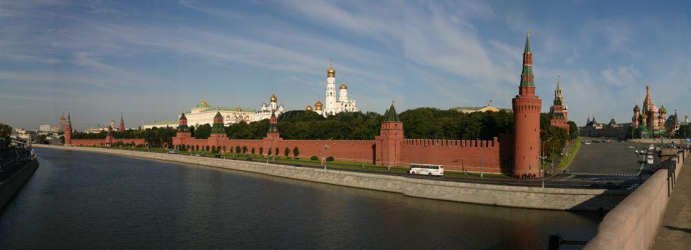 Der Kreml im Panorama