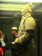 Der Krieger. Teil der Terracotta-Armee