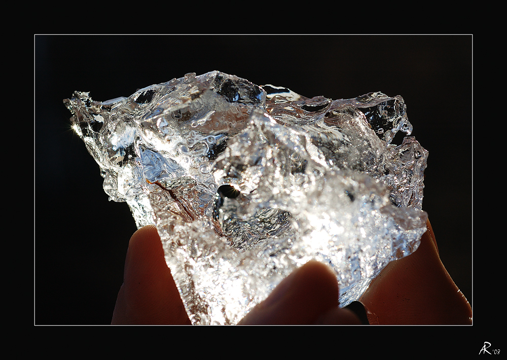 Der Kristall in meiner Hand...