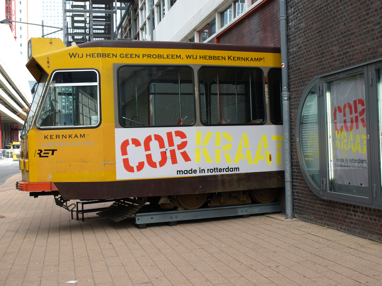 Der Künstler Cor Kraat in Rotterdam - 3 -