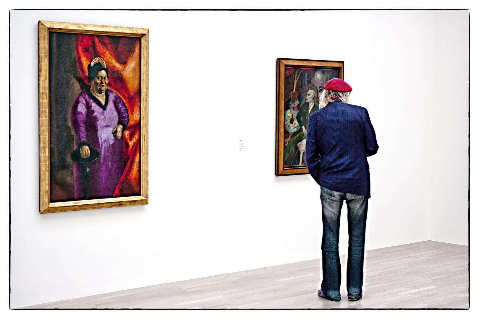 Der Künstler ist anwesend?