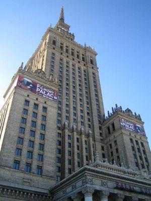 Der Kultur Palast in Warschau