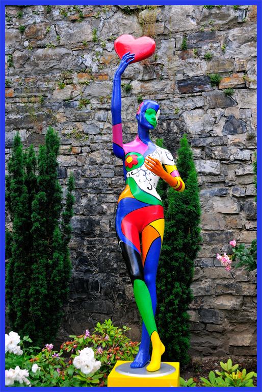Der Kunstsommer in Arnsberg hat seine Tore geöffnet.