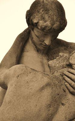 Der Kuss - mal nicht von Rodin