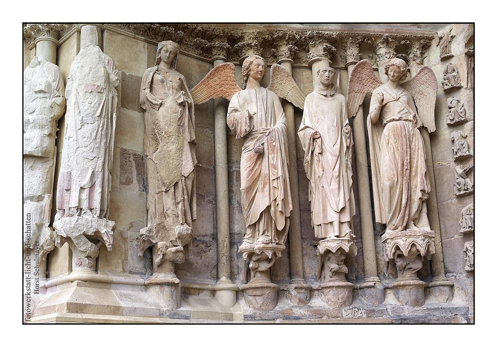 Der lachende Engel - Kathedrale von Reims, Champagne 1
