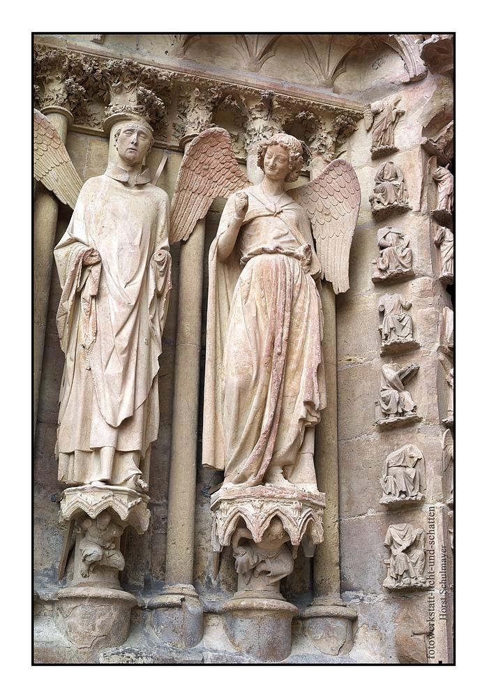 Der lachende Engel - Kathedrale von Reims, Champagne 2