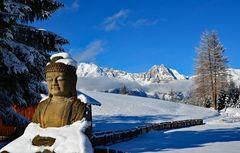 Der lächelnde Buddha