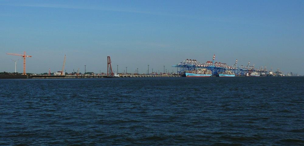 Der längste Hafen der Welt