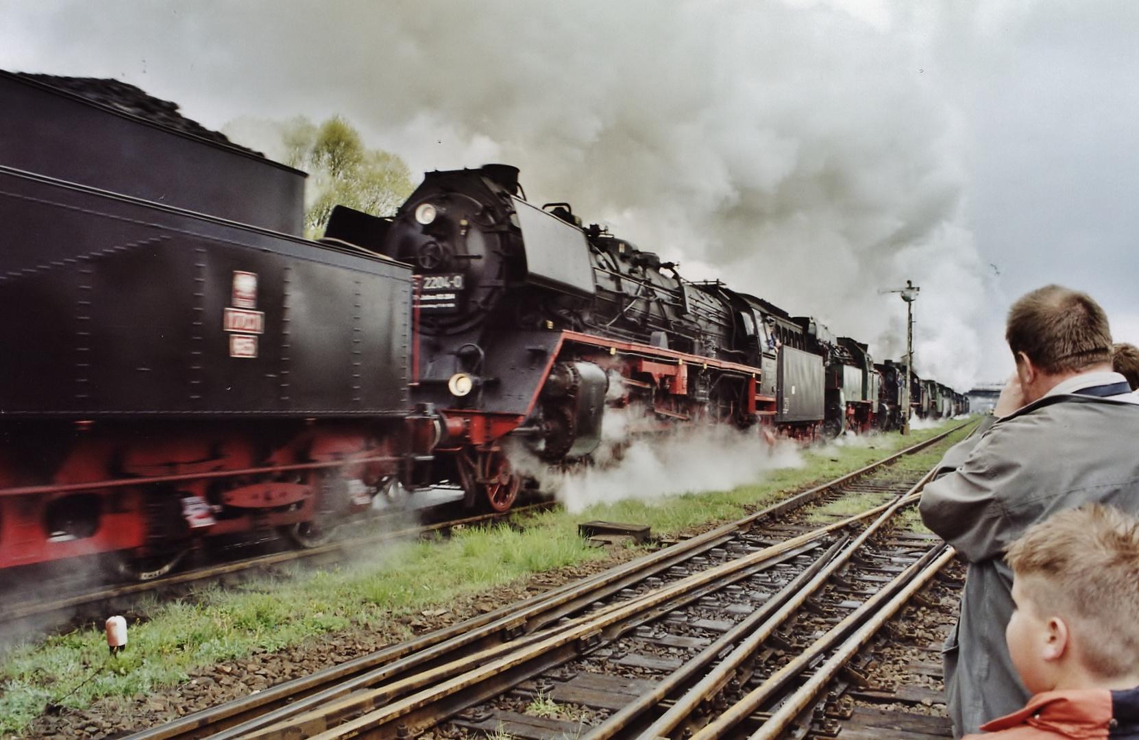 Der längste Lokzug Europas...