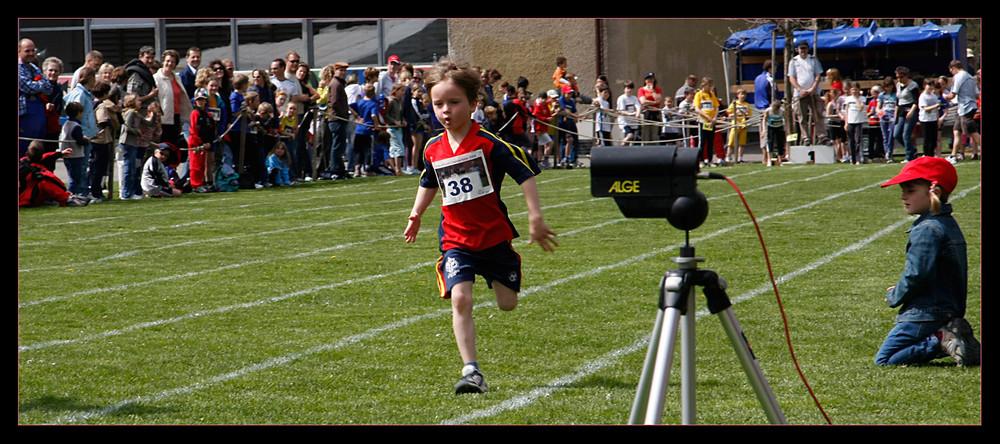 Der Läufer und die Fans