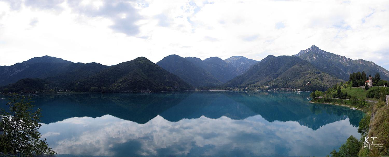 Der Lago di Ledro...