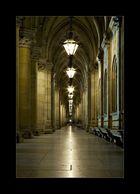 Der lange Gang mit Licht