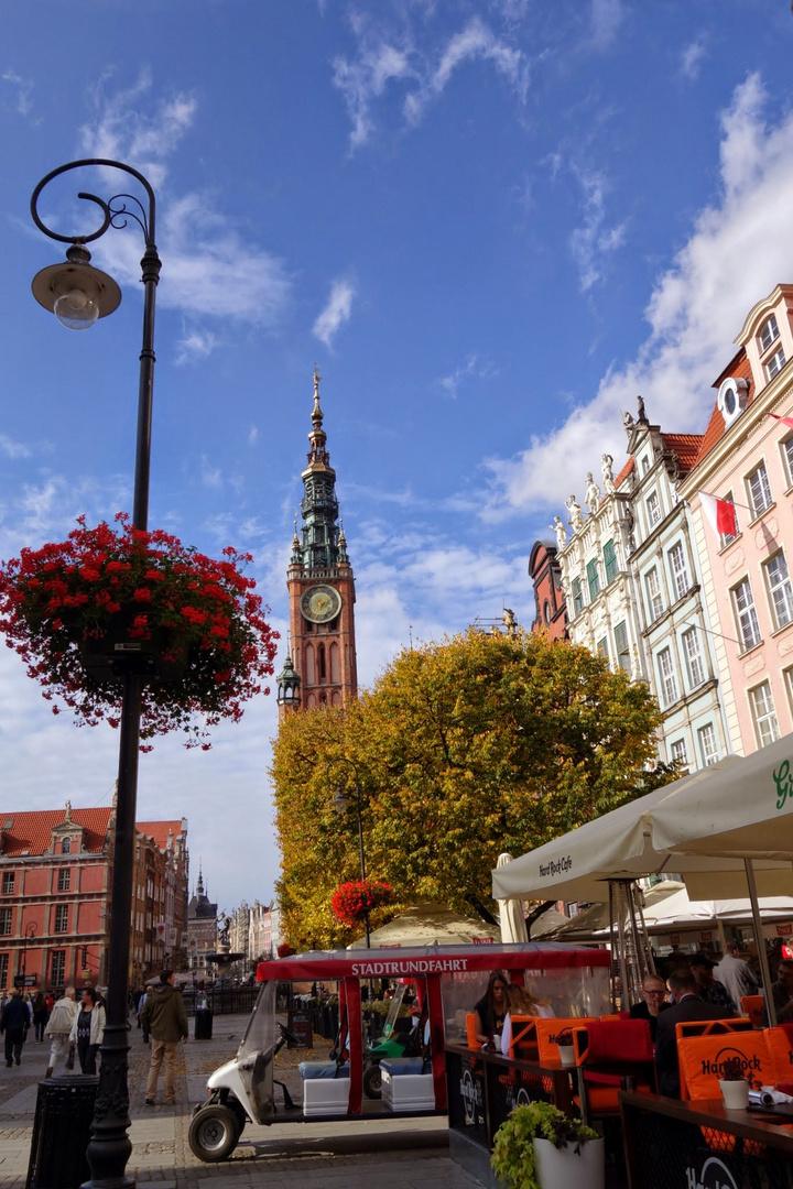 Der lange Markt in Gdansk