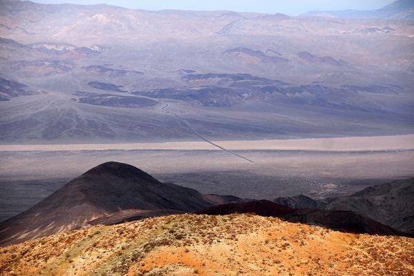 ...der lange Weg ins Death Valley...