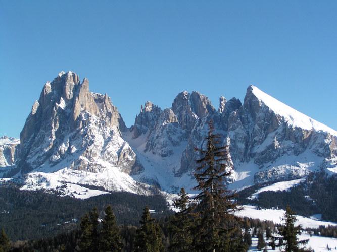 Der Langkofel in Südtirol