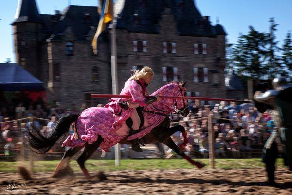 Der Lauwarme Ritter von Burg Satzvey