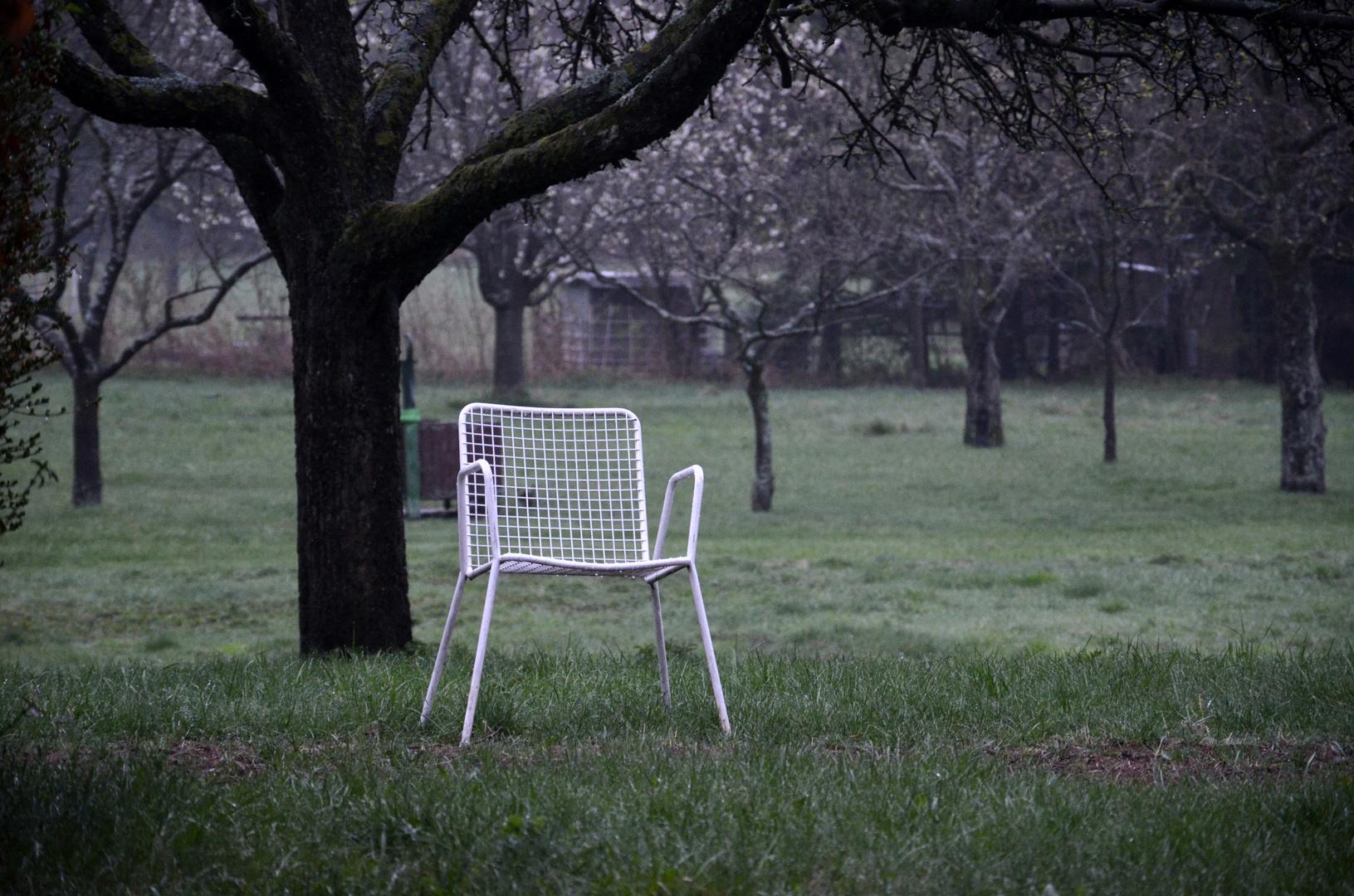 Der leere Stuhl