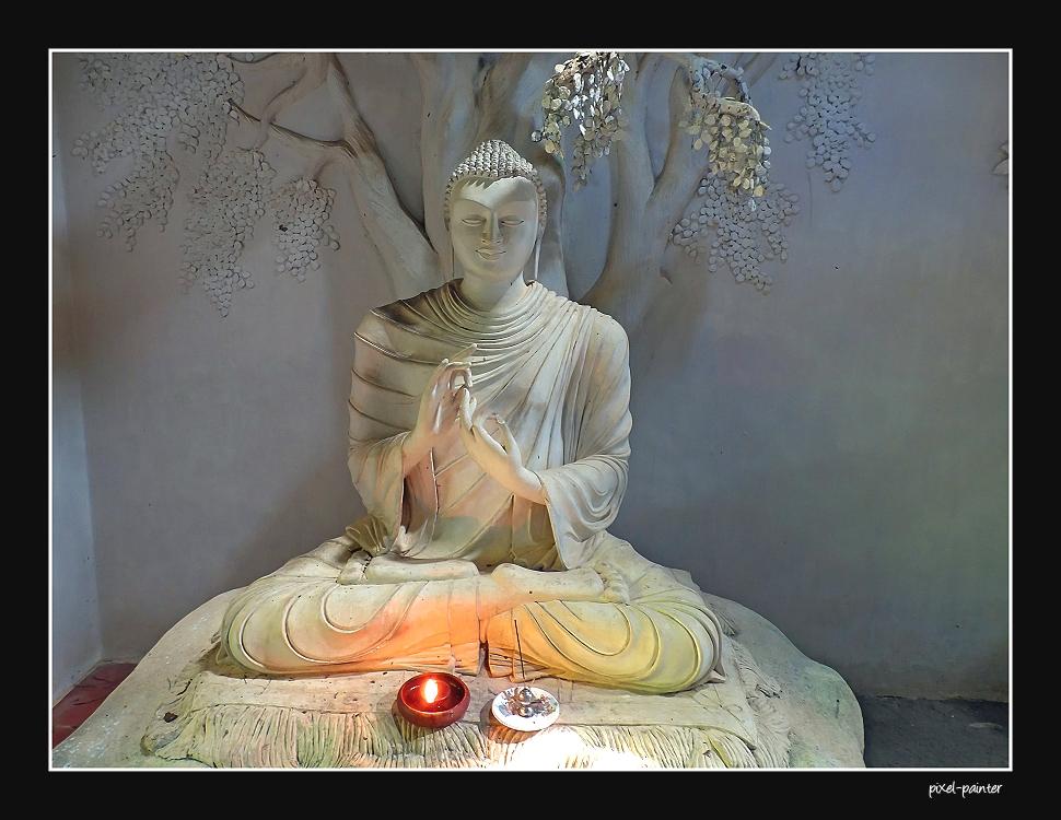 der lehrende Buddha