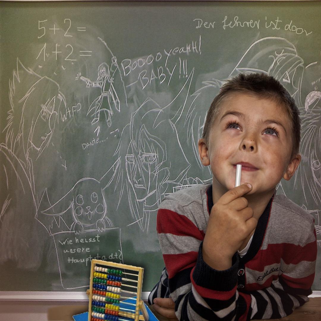 Der Lehrer ist doof