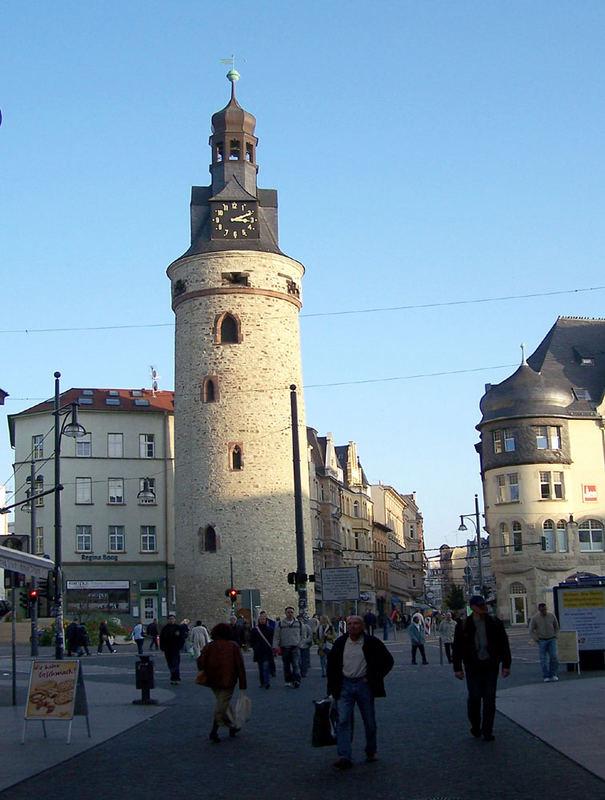 Der Leipziger Turm in Halle