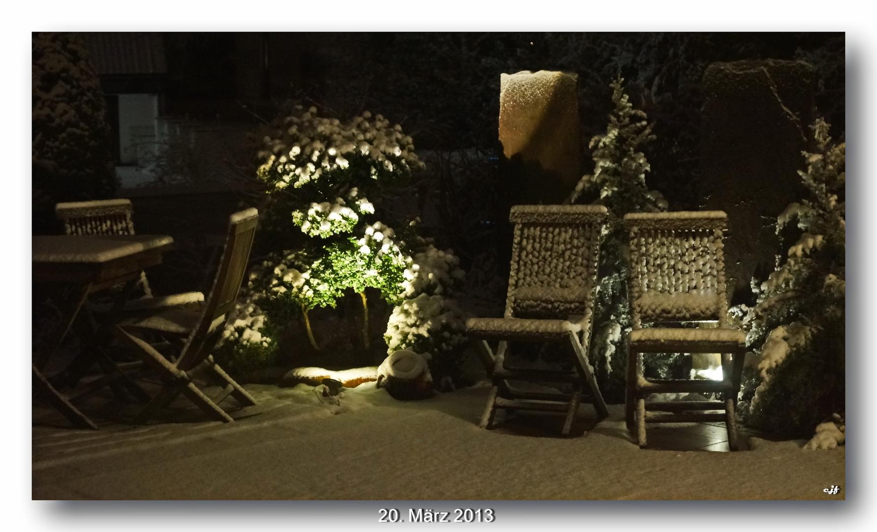 Der letzte Abend vor Frühlingsanfang