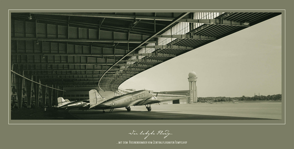 Der letzte Flug...